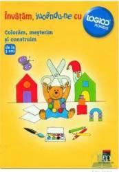 Invata jucandu-ne cu logico - Coloram mesterim si construim Carti