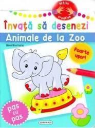 Invata Sa Desenezi Animale De La Zoo Carti