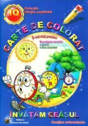 Invatam ceasul - Carte de colorat si activitati practice