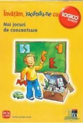Invatam jucandu-ne cu logico - Noi jocuri de concentrare Carti