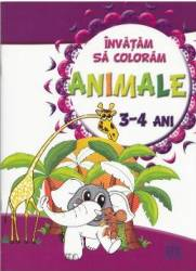 Invatam sa coloram Animale 3-4 ani