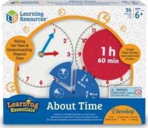 Invatam totul despre timp - Fractii Jucarii Interactive