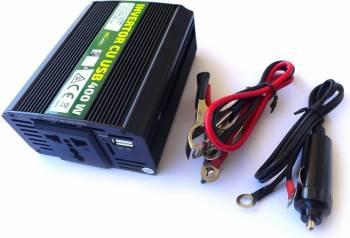 Invertor cu USB RoGroup 400W 12V-220V Compresoare Redresoare and Accesorii