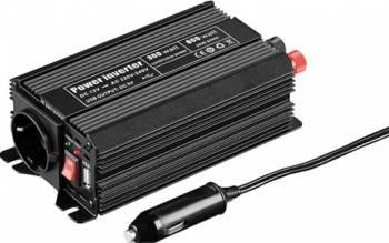 Invertor de la 12V DC la 230V AC 300W unda sinus  Compresoare Redresoare and Accesorii