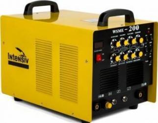 Invertor de sudura aluminiu TIG WIG Intensiv WSME 200 AC DC Aparate de sudura