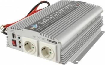 Invertor de tensiune 12V-230V 1000W HQ  Compresoare Redresoare and Accesorii