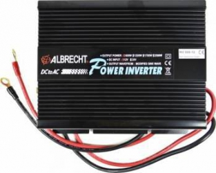 Invertor de Tensiune Albrecht A301M 12V 600W Compresoare Redresoare & Accesorii