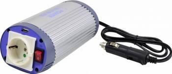 Invertor Tensiune Albrecht USB 12V 150W