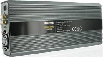 Invertor Whitenergy DC AC de la 12V DC la 230V AC 2000W 2 AC receptacle Compresoare Redresoare and Accesorii