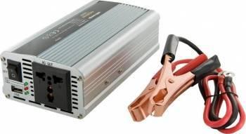 Invertor Whitenergy DC AC de la 12V DC la 230V AC 400W USB Compresoare Redresoare and Accesorii