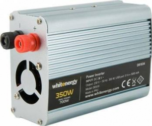 Invertor Whitenergy DC AC de la 24V DC la 230V AC 350W USB