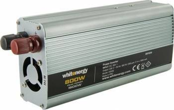Invertor Whitenergy DC AC de la 24V DC la 230V AC 800W USB Compresoare Redresoare and Accesorii