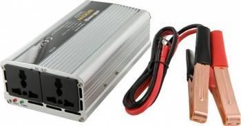 Invertor Whitenergy DC AC de la 12V DC la 230V AC 400W 2 AC Receptacle Compresoare Redresoare and Accesorii
