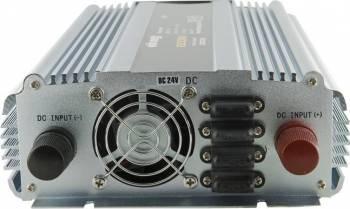 Invertor Whitenergy DC AC de la 24V DC la 230V AC 1500W 2 receptacule AC
