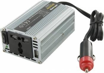 Invertor Whitenergy DC AC de la 24V DC la 230V AC 200W USB Compresoare Redresoare and Accesorii