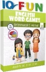 IQ Fun - English word games - Antreneaza-ti mintea 8 ani+ Carti