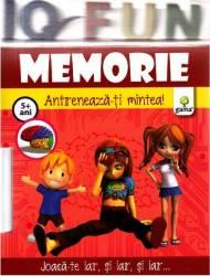 Iq Fun - Memorie - Antreneaza-ti mintea 5+ ani