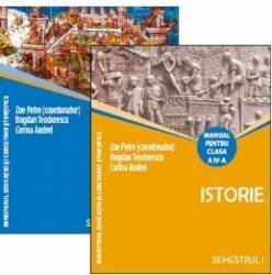 Istorie Cls 4 Sem 1+2 2 vol + CD - Zoe Petre