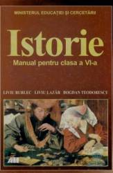Istorie Cls 6 - Liviu Burlec Liviu Lazar Bogdan Teodorescu