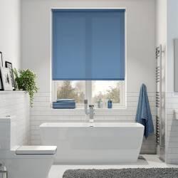 Jaluzea tip Rulou material Carina 4935 culoare Albastru 880 mm x 1300 mm Rulouri si jaluzele