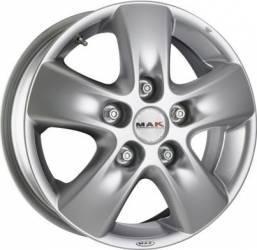 Janta Aliaj Mak Hd2 6.5j16 5 X 160 Et60 Hyper Silver Jante