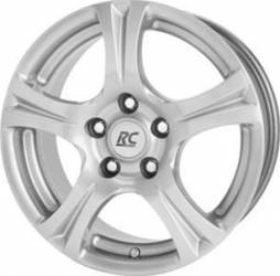 Janta Aliaj RC Design RC 14 KS 6.5j15 5 x 112 Et44 Crystal Silver Jante