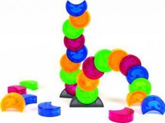 Joc constructie magnetic Arx 2.0 - Fat Brain Toys Puzzle si Lego