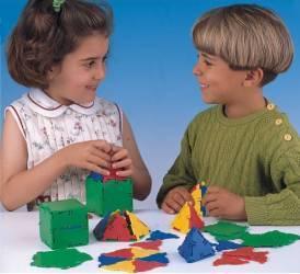Joc constructii Conexion 54 Miniland Puzzle si Lego