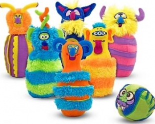 Joc de bowling POPICE Monstruletii Veseli Melissa and Doug