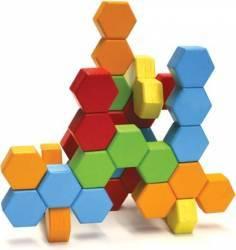 Joc de constructie IQ HexActly - Fat Brain Toys Puzzle si Lego