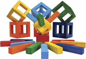 Joc de constructie IQ Twig - Fat Brain Toys Puzzle si Lego