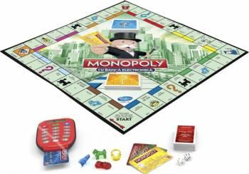 Joc De Societate Hasbro Monopoly Banca Electronica