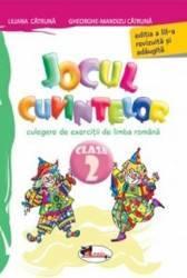 Jocul cuvintelor clasa 2 ed.3 - Liliana Catruna Gheorghe-Mandizu Catruna