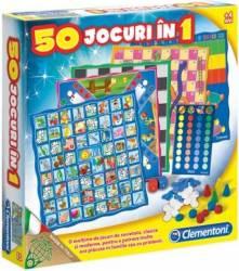 Jocuri de societate Clementoni -50 jocuri in 1- Jucarii Interactive