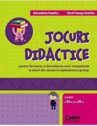 Jocuri didactice clasa 3 si 4 - Alexandrina Dumitru Viorel-George Dumitru