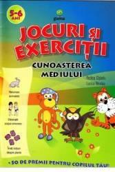 Jocuri si exercitii. Cunoasterea mediului 5-6 ani - Rodica Cislariu. Lucica Nicolau