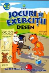 Jocuri si exercitii. Desen 6-7 ani - Rodica Cislariu Lucica Nicolau