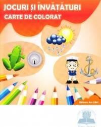 Jocuri si invataturi Carte de colorat Carti