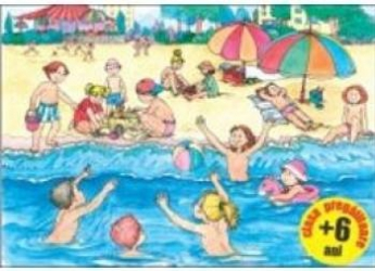 Jocurile copiilor vara si iarna - 6 planse A3 title=Jocurile copiilor vara si iarna - 6 planse A3