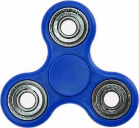 Jucarie Antistres HIT Classic Fidget Spinner Blue Jucarii antistres