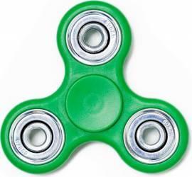 Jucarie Antistres HIT Classic Fidget Spinner Green Jucarii antistres