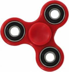 Jucarie Antistres HIT Classic Fidget Spinner Red Jucarii antistres