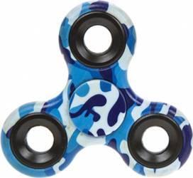 Jucarie Antistres HIT Fidget Spinner Camuflaj Blue Jucarii antistres