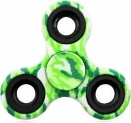 Jucarie Antistres HIT Fidget Spinner Camuflaj Green Jucarii antistres