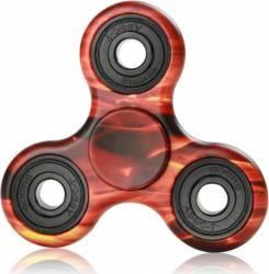Jucarie Antistres HIT Fidget Spinner Camuflaj Orange Jucarii antistres