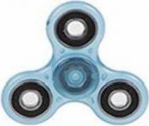 Jucarie Antistres HIT Fidget Spinner Fosforescent Blue Jucarii antistres