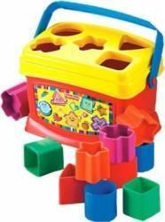 Jucarie bebelusi Fisher-Price Babys First Blocks Jucarii Bebelusi