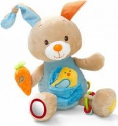 Jucarie bebelusi Minimi Fil Activity Bunny Jucarii Bebelusi