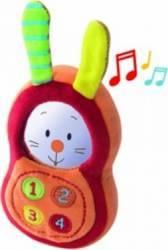 Jucarie bebelusi Minimi Fil Bunny Phone Jucarii Bebelusi
