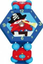 Jucarie copii Bino Blue Watch With Pirates